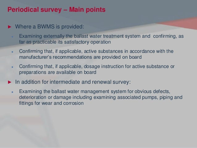 Ballast Water Convention