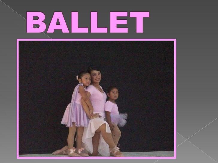 BALLET<br />