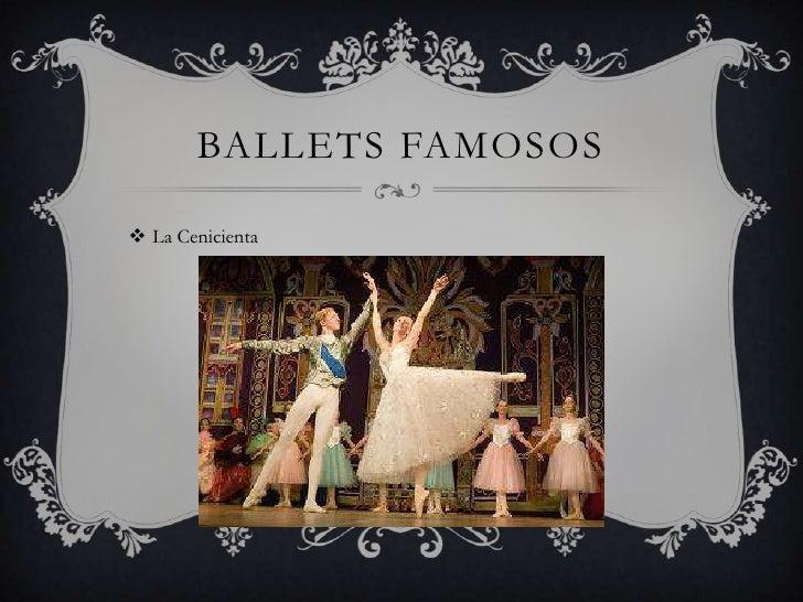 BALLETS FAMOSOS La Cenicienta