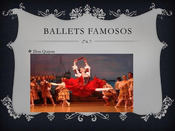 BALLETS FAMOSOS Don Quijote