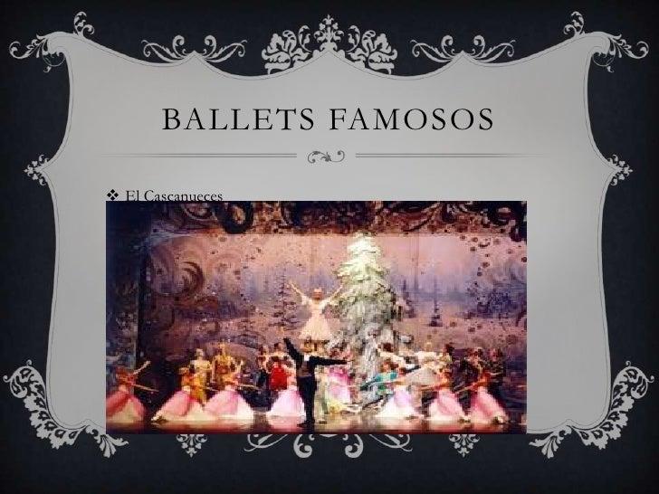 BALLETS FAMOSOS El Cascanueces