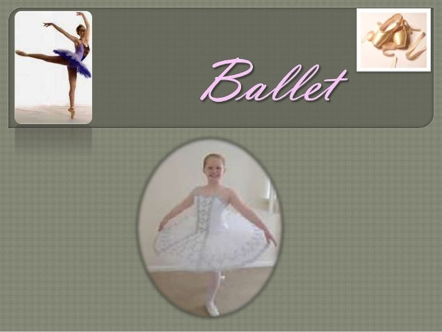 When you are in Ballet 5 or Ballet6, then you will be taught to danceen Pointe. En Pointe requires aspecial type of ballet...