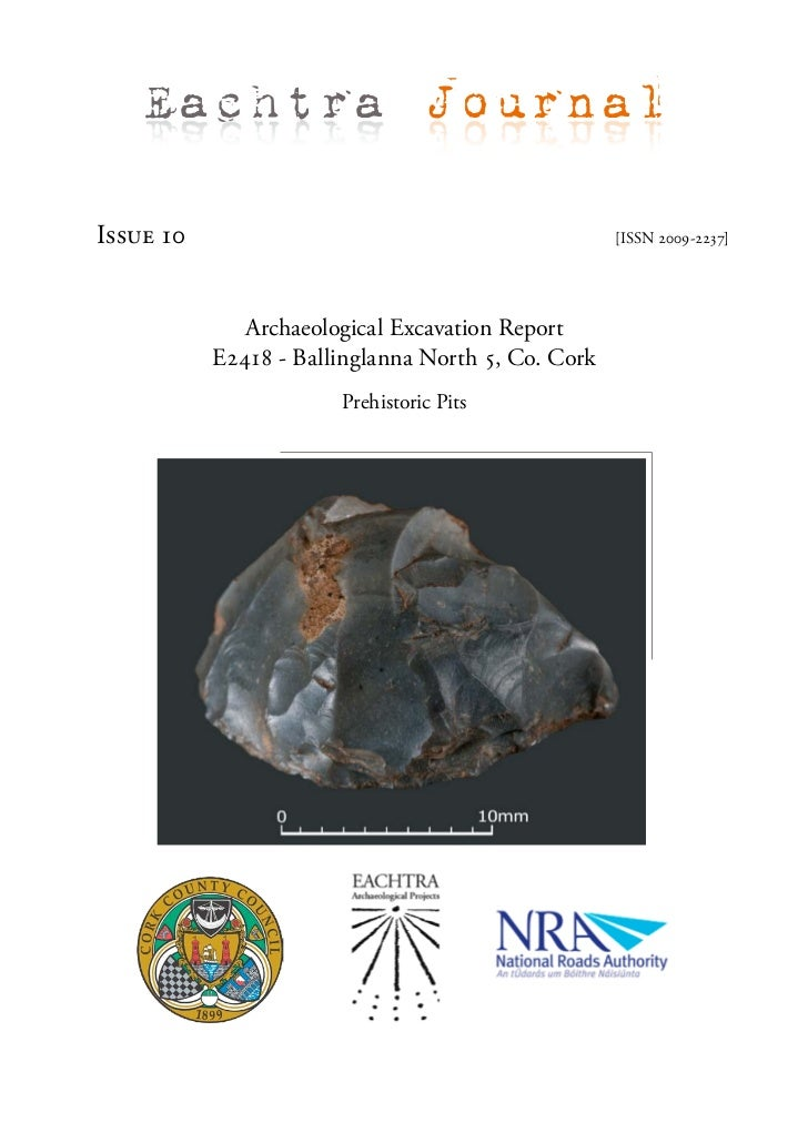 Eachtra JournalIssue 10                                            [ISSN 2009-2237]              Archaeological Excavation...