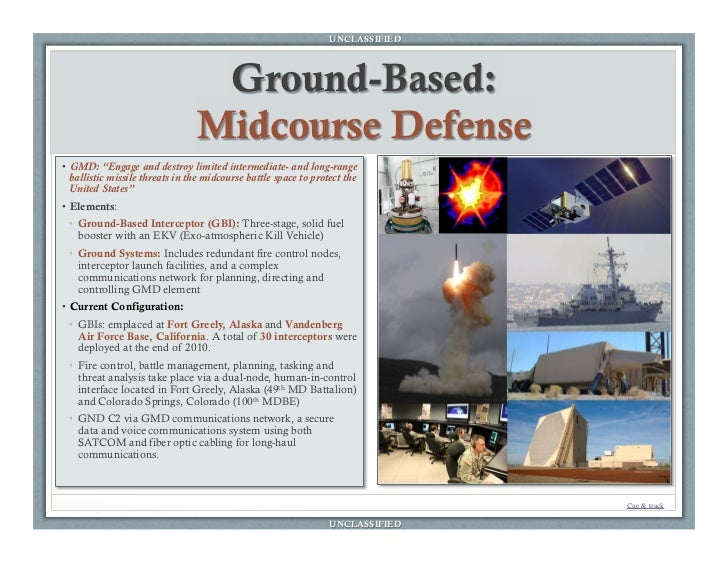 an overview of ballistic missile defense system Ballistic missile defense the aegis ballistic missile defense (bmd) system is the primary sea-based component of the us missile defense system aegis bmd seamlessly integrates the spy-1 radar, mk 41 vertical launching system, and sm-3 missile through an advanced command and control system.