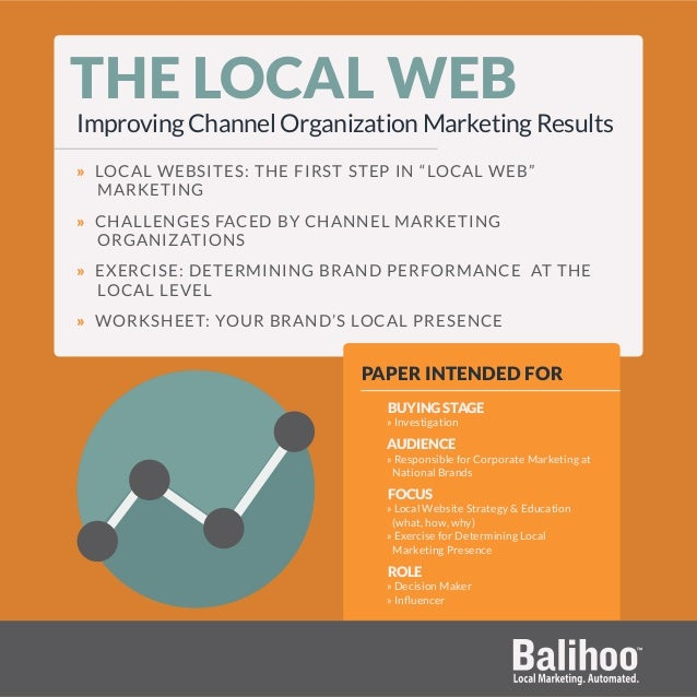 """THE LOCAL WEB Improving Channel Organization Marketing Results » LOCAL WEBSITES: THE FIRST STEP IN """"LOCAL WEB"""" MARKETING »..."""