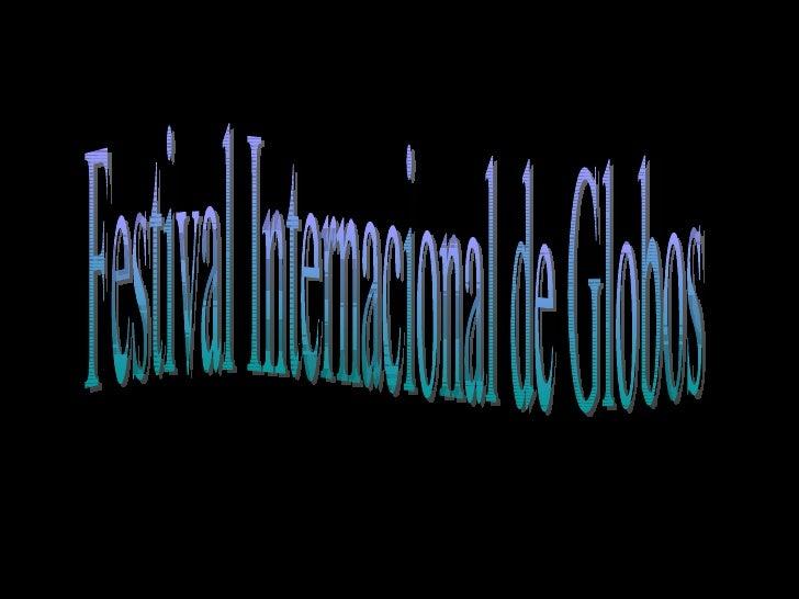 Festival Internacional de Globos