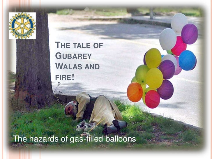 The tale of Gubarey Walas and fire!<br />The hazards of gas-filled balloons<br />
