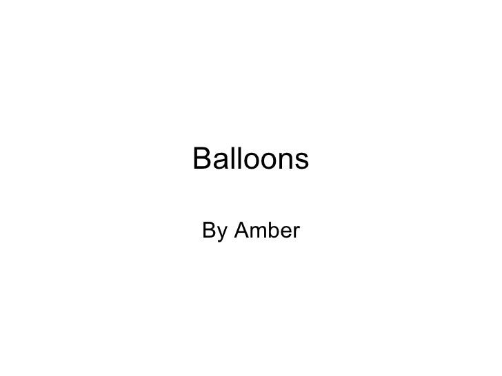 Balloons By Amber