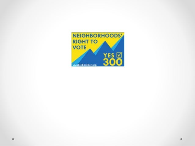 What 300 applies to: • It pertains to widespread, wholesale re-zonings of neighborhoods. • Example: if they were going to ...