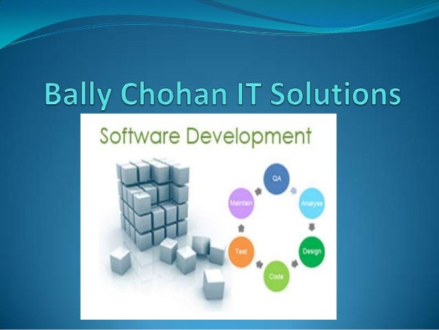 About Bally Chohan  Bally Chohan IT solution is an UK based software  company mainly focus on web design, networking, sof...
