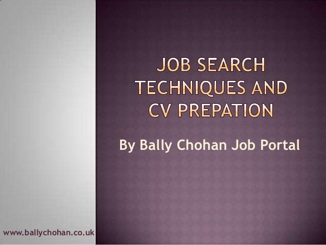 www.ballychohan.co.uk By Bally Chohan Job Portal
