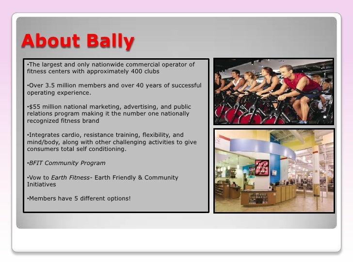 a profile overview of bally total fitness and its public relations