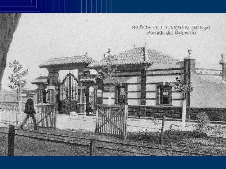 Fotografias Antiguas De Los Banos Del Carmen En Malaga - Baos-antiguos