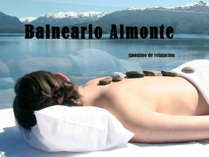 Balneario Almonte   sinónimo de relajación