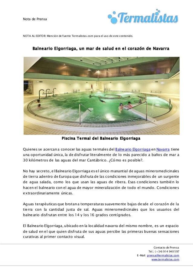 Balneario Elgorriaga, un mar de salud en el corazón de Navarra