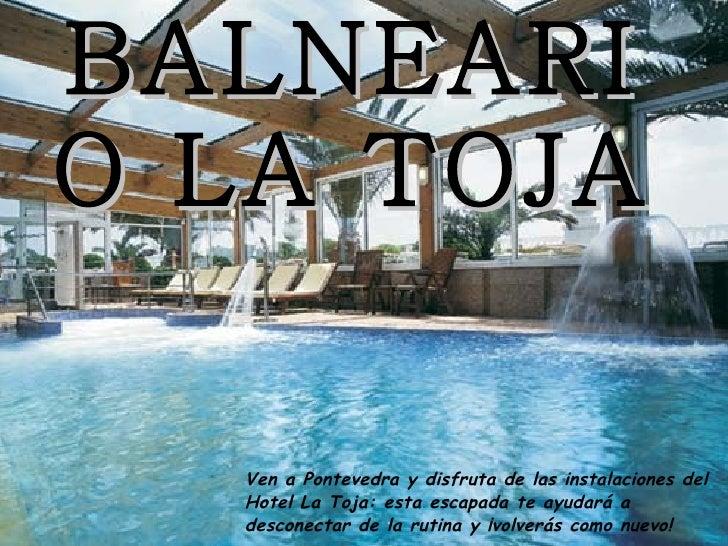BALNEARIO LA TOJA Ven a Pontevedra y disfruta de las instalaciones del Hotel La Toja: esta escapada te ayudará a desconect...