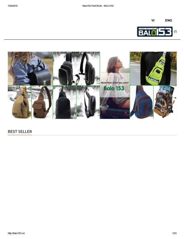 Balo153Part01ĩjfe - BALO153  7/22/201 5  ENG  Vl  M 0 W U W: M In W n 0 ..m M M   !3oc!lo 153  ŕ  nưwnw  ựeeiẠợ.esơ ợ 0  I...
