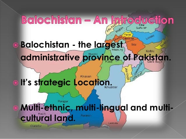 baloch insurgency Their existence is palpable across locations of every size in pakistan's balochistan province the initials of the several baloch insurgent groups sprayed on brick walls and mud houses across.