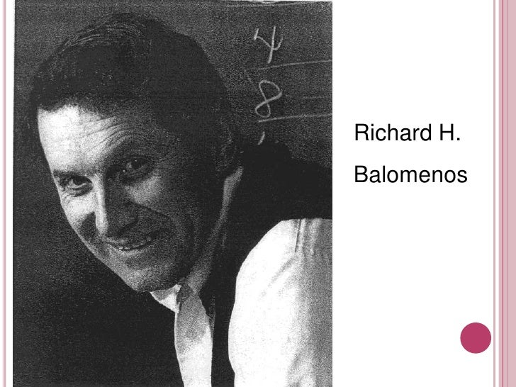 Richard H.<br />Balomenos<br />