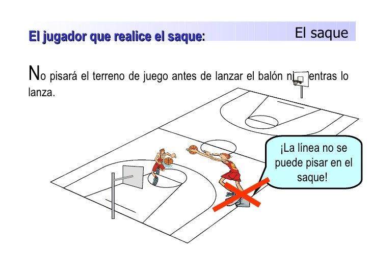 Baloncesto for Balon fuera de juego