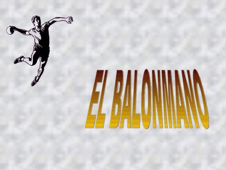 EL BALONMANO