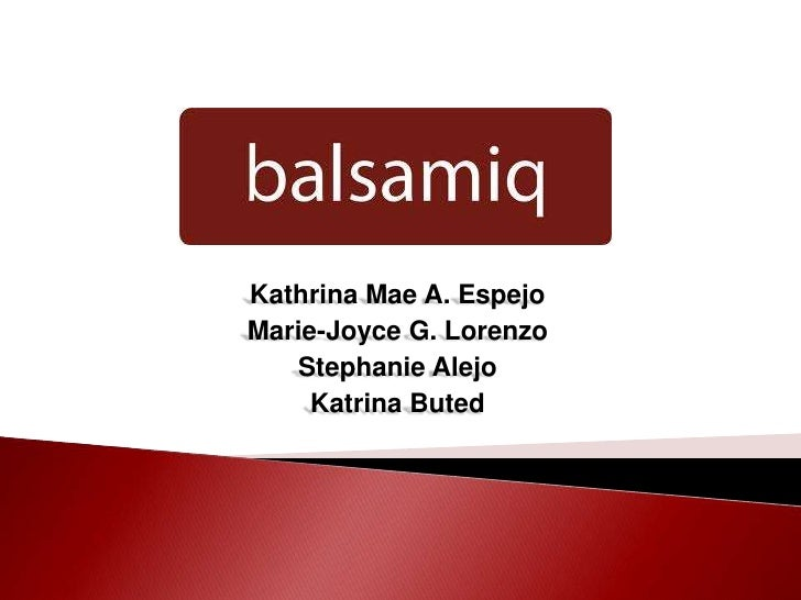 Kathrina Mae A. EspejoMarie-Joyce G. Lorenzo   Stephanie Alejo     Katrina Buted
