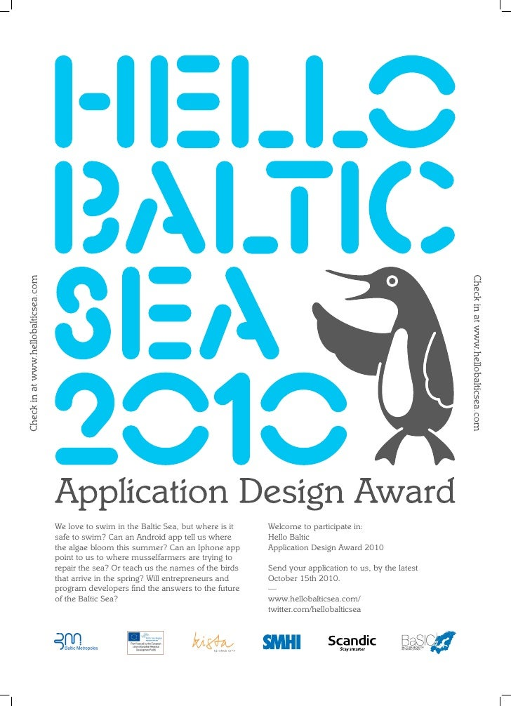We love to swim in the Baltic Sea, but where is it   Welcome to participate in: safe to swim? Can an Android app tell us w...