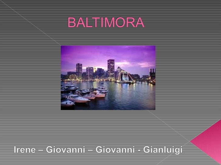 Founded in 1729, Baltimoreis the largest city of US stateof Maryland                                                   BAL...