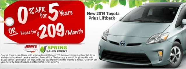 2013 Toyota Prius at Jerry's Toyota in Baltimore, Maryland
