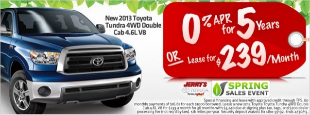 2013 Toyota Tundra at Jerry's Toyota in Baltimore, Maryland
