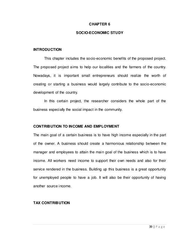 7. Socio-eco aspect chapter 7 socio-economic aspect government.