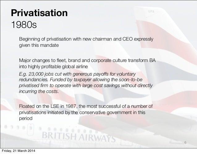 british airways human resource management
