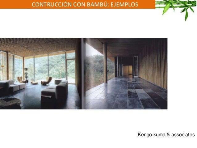 CONTRUCCIÓN CON BAMBÚ: EJEMPLOS Kengo kuma & associates