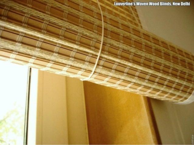 Bamboo Blinds Natural Shades Woven Wood Blinds Delhi