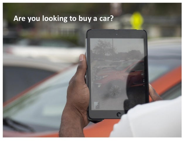 Are you looking to buy a car?