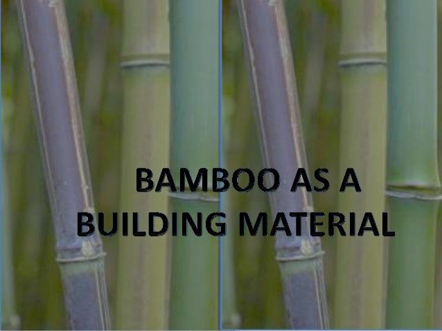 INTRO… • Bamboo is a woody grass. It is the fastest-growing woody plant • Some species of bamboo grow so fast you can almo...