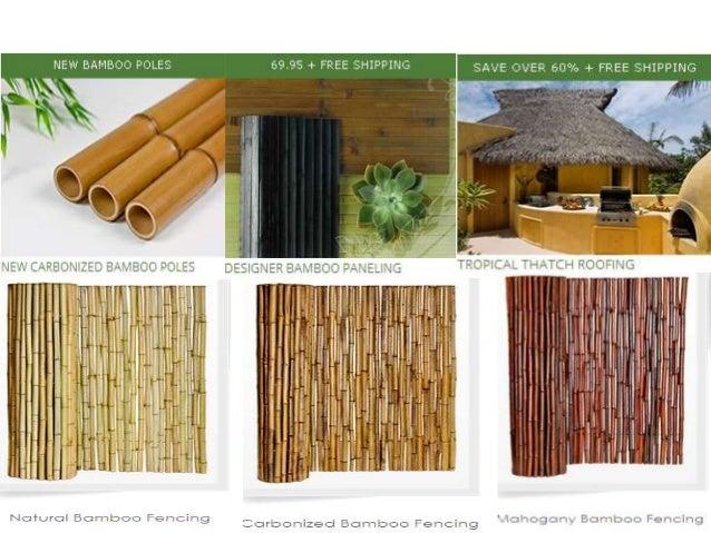Bamboo Wall Covering; 4.