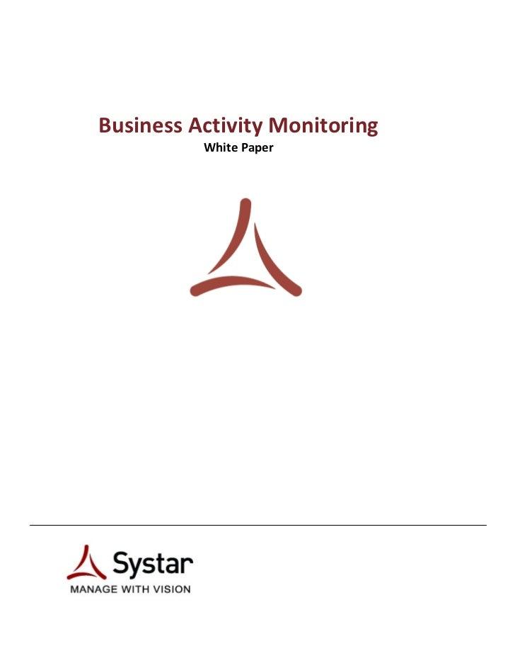 BusinessActivityMonitoring                  WhitePaper        ...