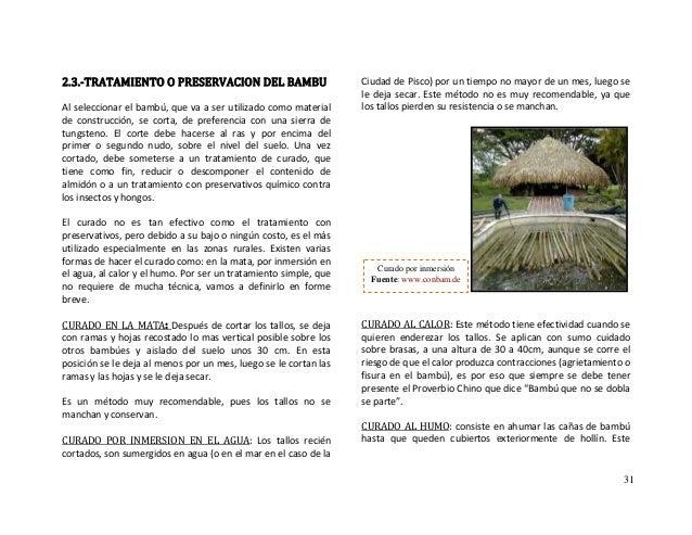 Bambu material de construccion - Suelo de bambu ...