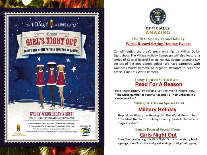 2011 Holiday Events at Spotsylvania Towne Centre