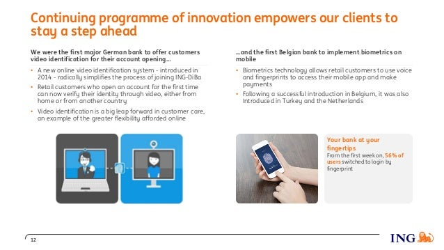 Continuing programme of innovation empowers our clients to stay a step ahead 12 Your bank at your fingertips From the firs...