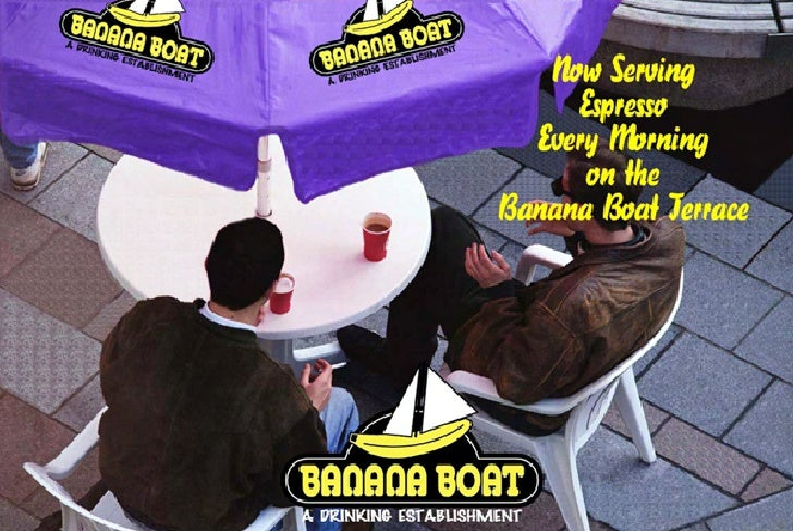 Banana Boat Advertisement