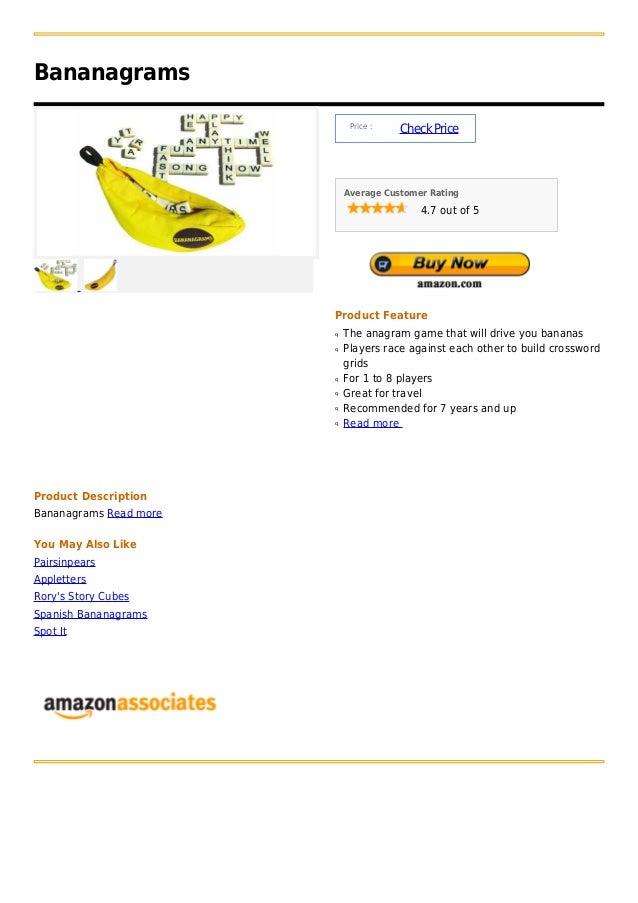 Bananagrams                             Price :                                       Check Price                         ...