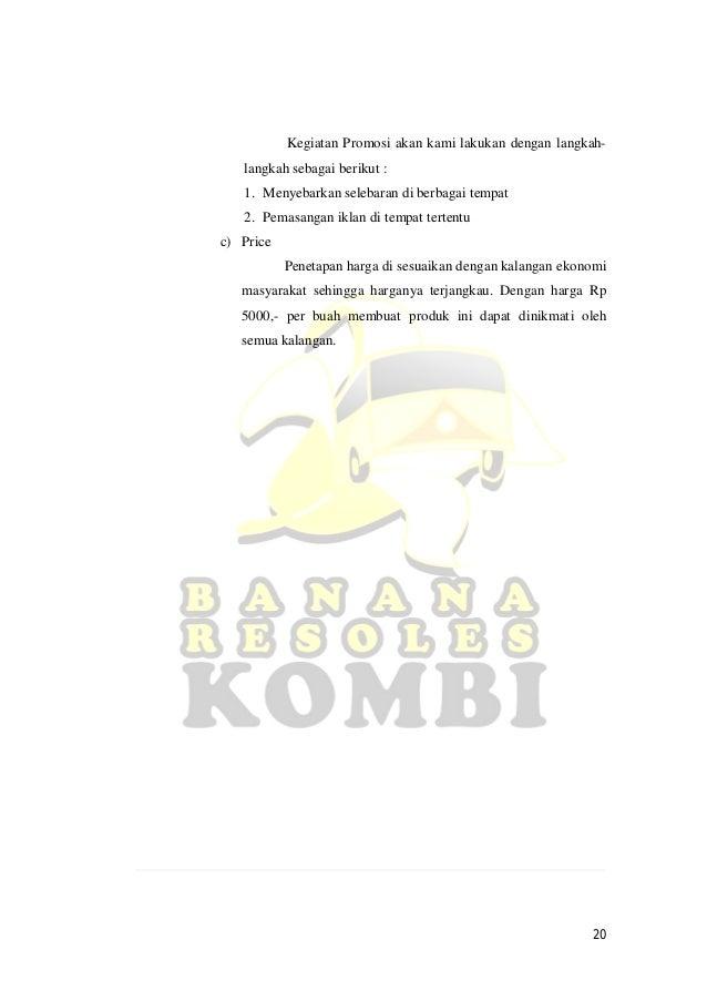 Contoh Bisnis Plan Coklat Feed News Indonesia