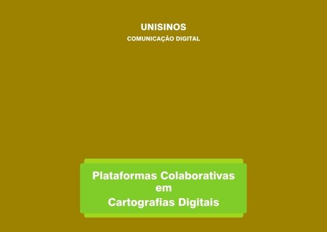 Como ocorrem atualmente algumas iniciativas e ações comunicacionais relacionadas a colaboração cidadã, a partir do ambient...