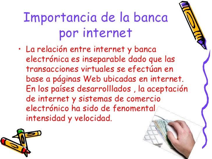 Banca por internet power point 7m michael for Importancia de oficina wikipedia
