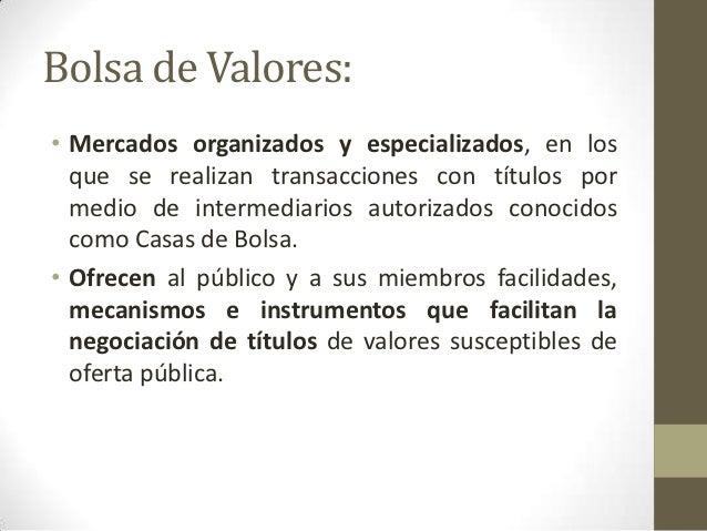 Banco de México & Bolsa de valores slideshare - 웹