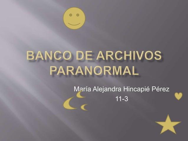 María Alejandra Hincapié Pérez  11-3