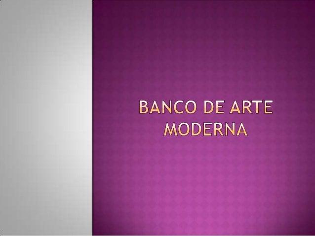  Nome do Jogo: Banco de Arte Moderna  Público: Ensino Fundamental 6° ao 9° ano  Formato: Jogo  Foco Principal:  Propi...