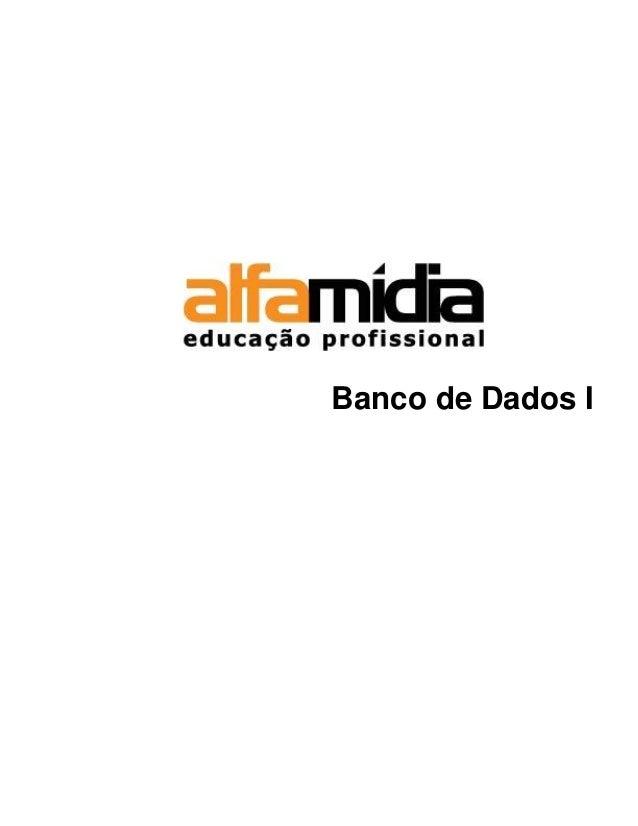 Banco de Dados I